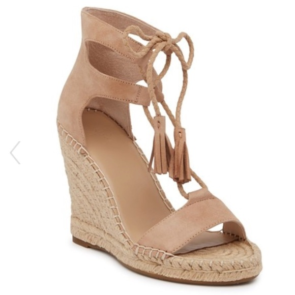 62e0fcd22f5 Joie Shoes - Joie delilah Espadrille Suede Wedge Sandal